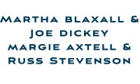 Blaxall Dickey Axtell Stevens