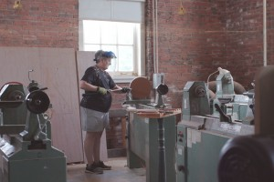 Maryland Hall Woodturning Studio