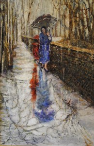 Pethel, Coming and Going II, Oil on Canvas